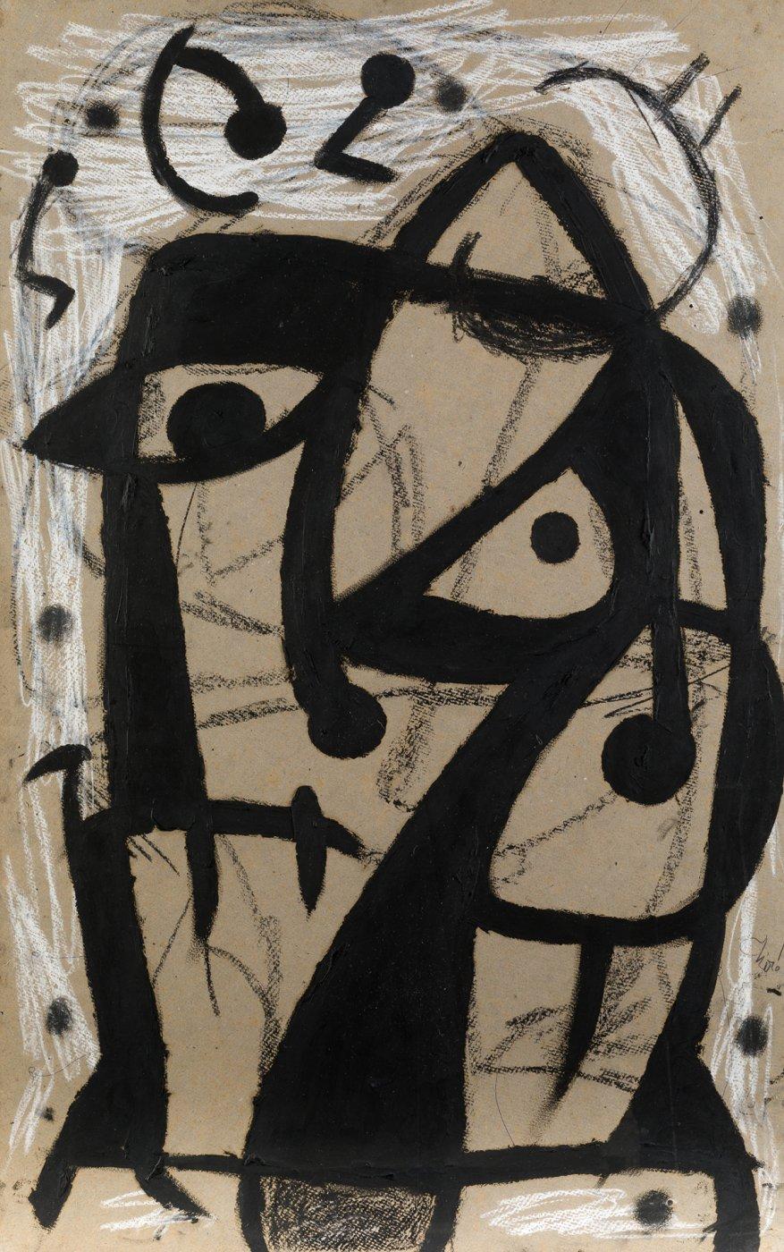 Joan Miró, Personnage, oiseaux, 1980. Salida: 80.000 euros. Remate: 150.000 euros