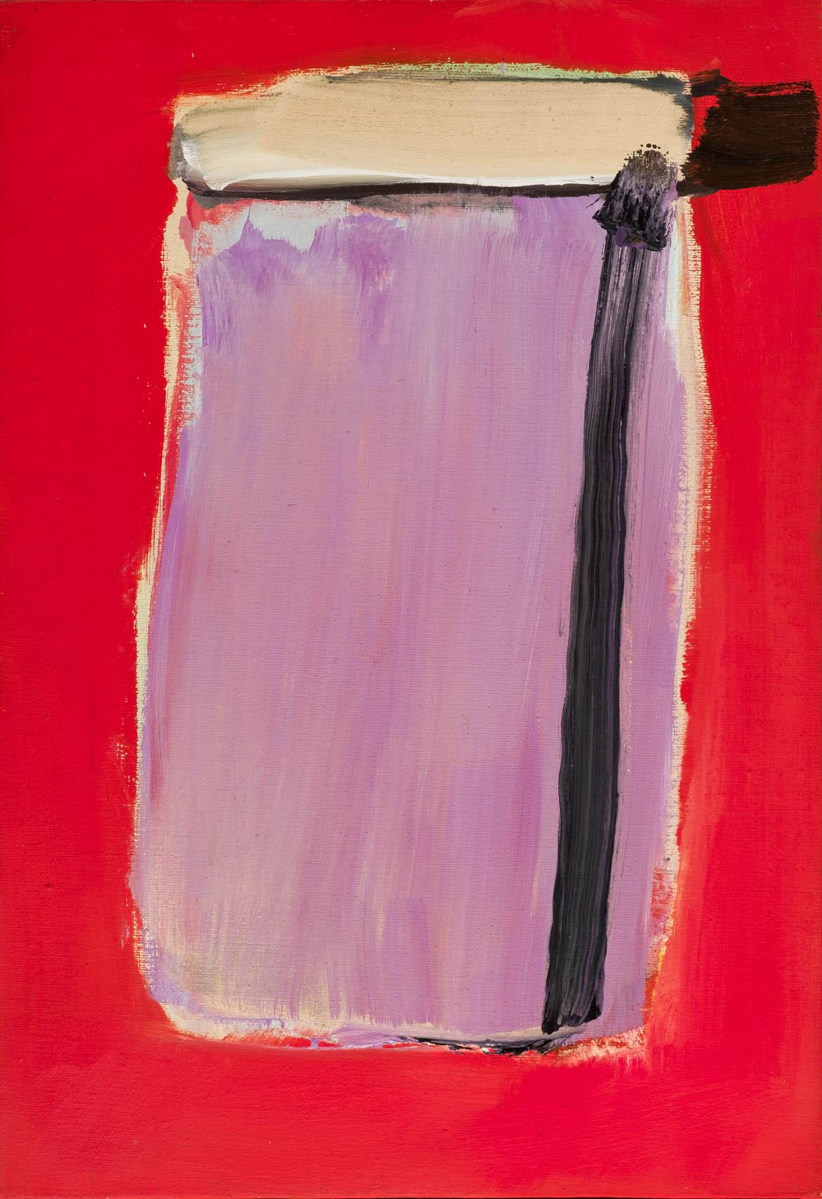 José Guerrero, Violeta, 1979. Salida: 40.000 euros. No vendido