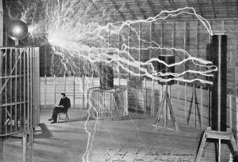 Generating Artificial Lightning in Nikola Tesla's Laboratory
